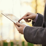 Tablet internet buiten huis